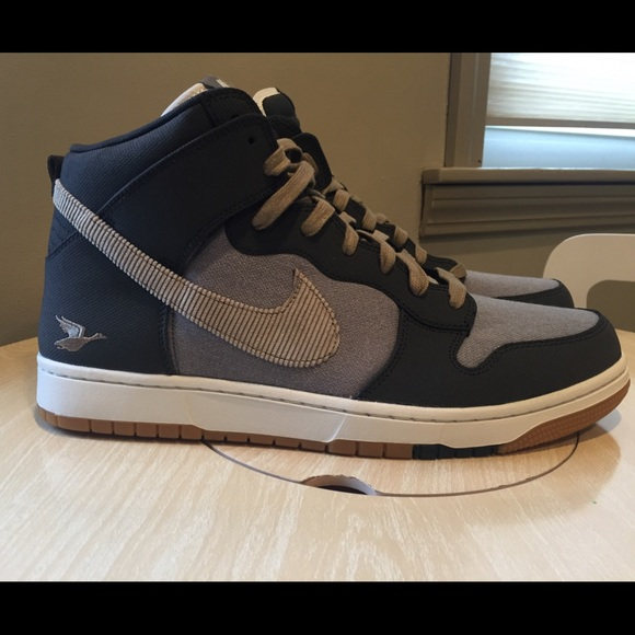 finest selection c2483 c1d4b nike dunk high trainers